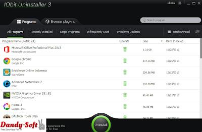 IObit Uninstaller 3.1.7.2379