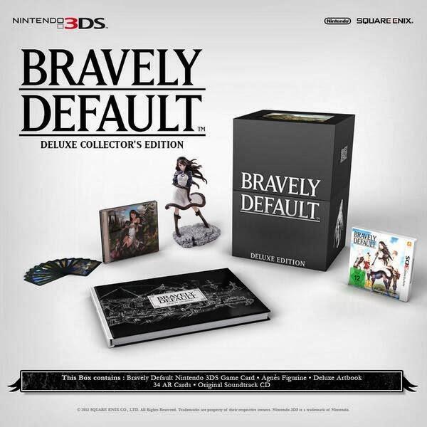 Bravely Defaut, Square Enix, Nintendo 3DS, Nintendo, Actu Jeux Video, Jeux Vidéo,