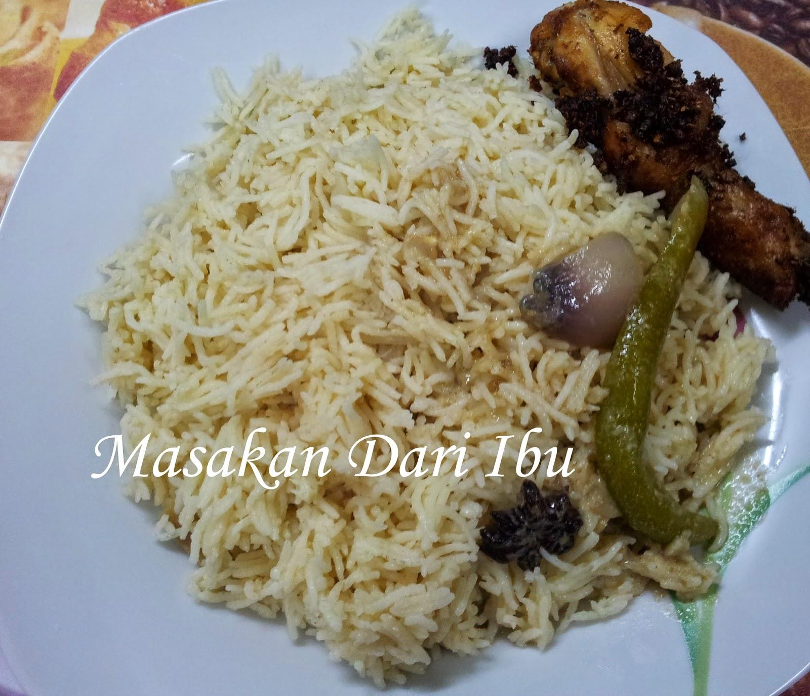 Masakan Dari Ibu Nasi Minyak Simple