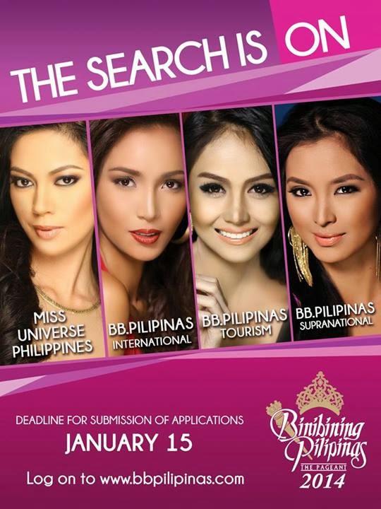 Binibining Pilipinas 2014 Screening