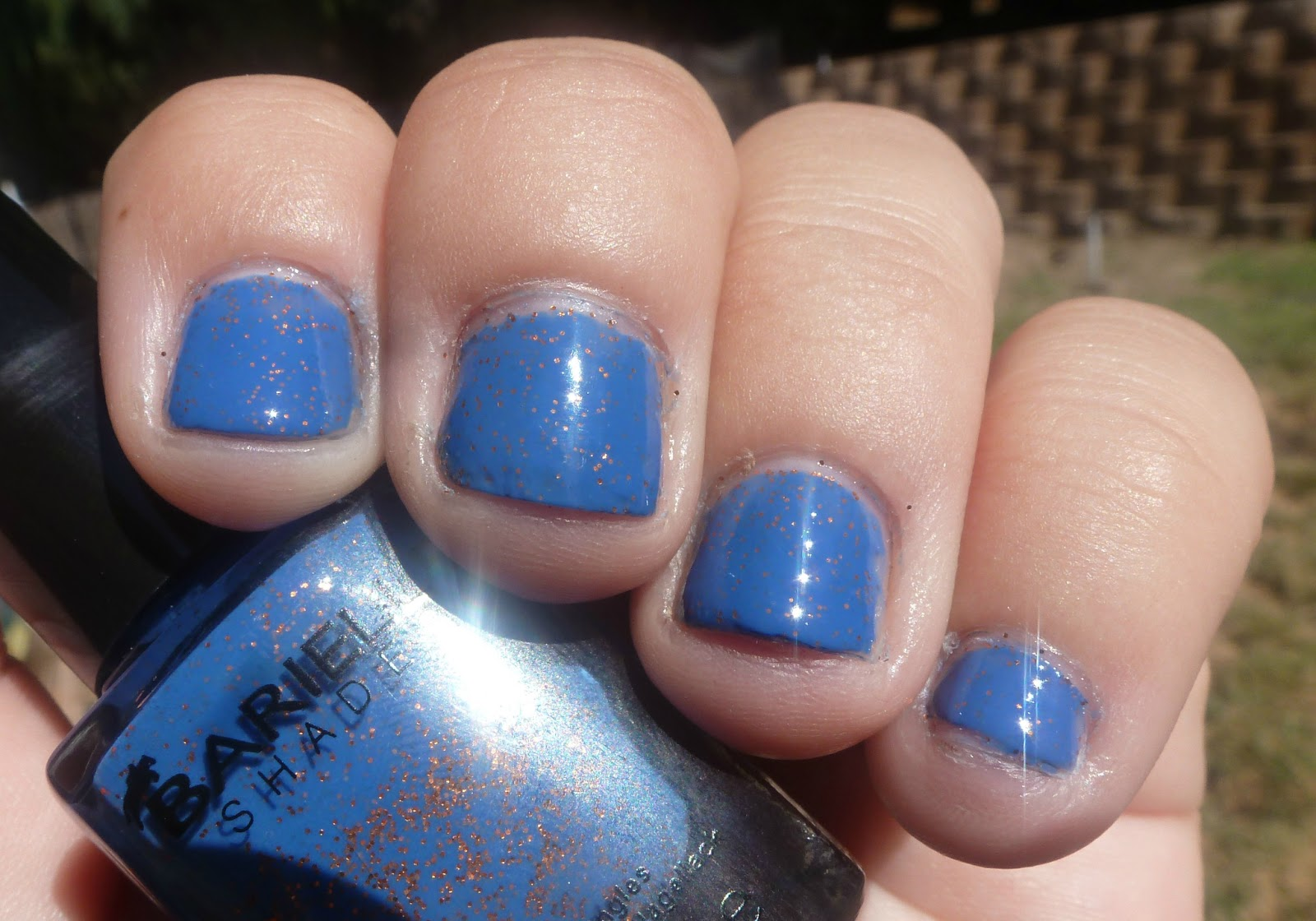 Guest Post by Swatch Me Now: Barielle Falling Star