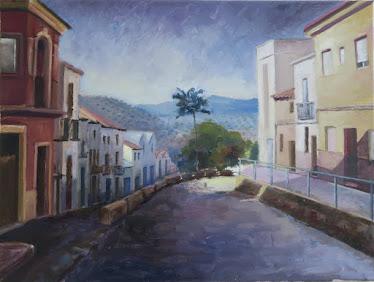 Bajada a Regomello; Fuerte del Rey, Jaén (12P)
