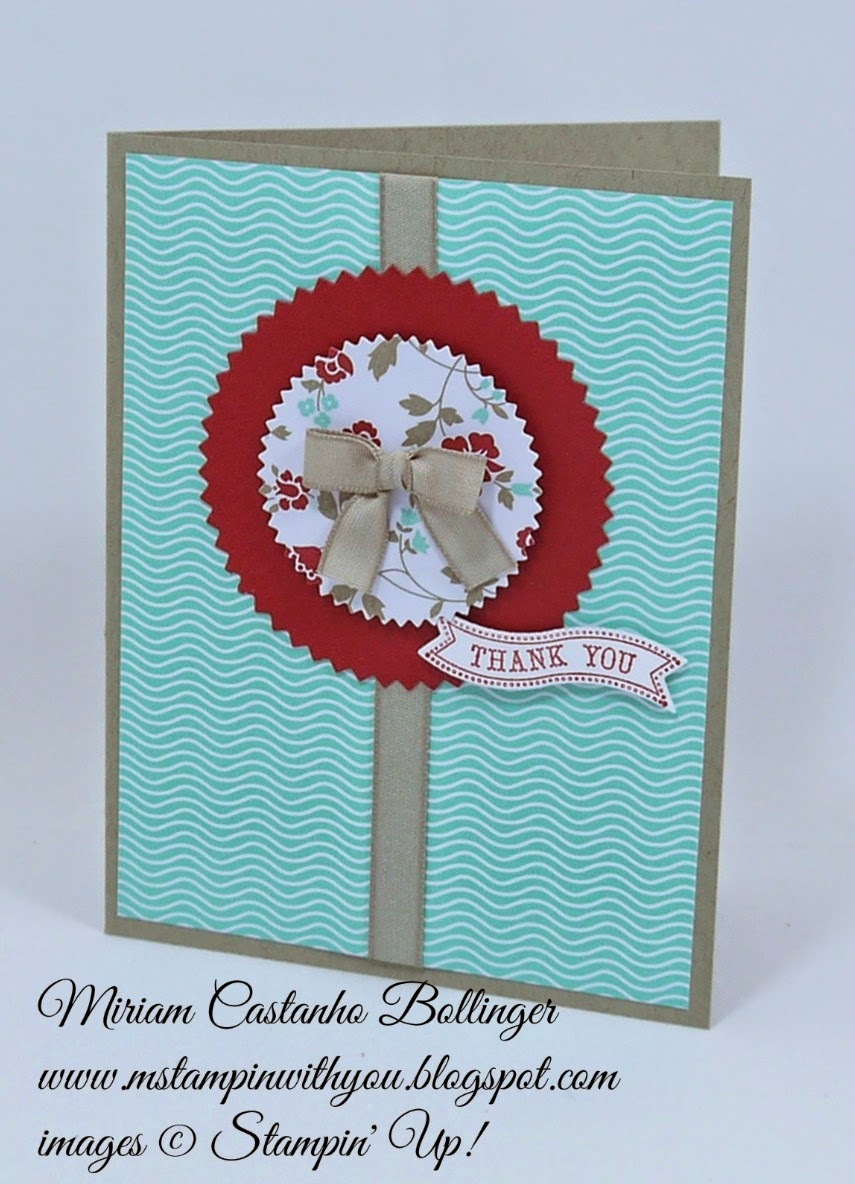 Miriam Castanho Bollinger, #mstampinwithyou, stampin up, demonstrator, dsc 118, itty bitty banners, itty bitty framelits, starburst framelits, thank you, su