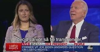 Joe Biden declară că susține ideologia LGBT și terapia de tranziție pentru o fetiță de 8 ani