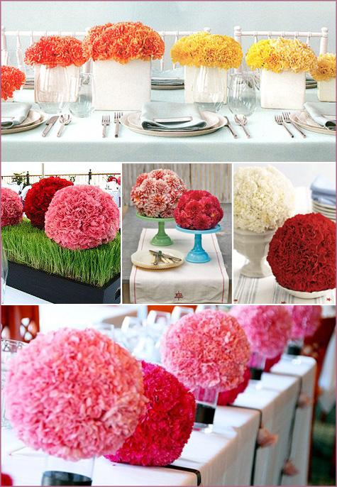 Dodeco - Centre de table fleur mariage ...