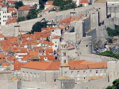zidurile cetatii din dubrovnik
