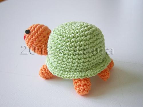 Laura fa: Tartaruga amigurumi