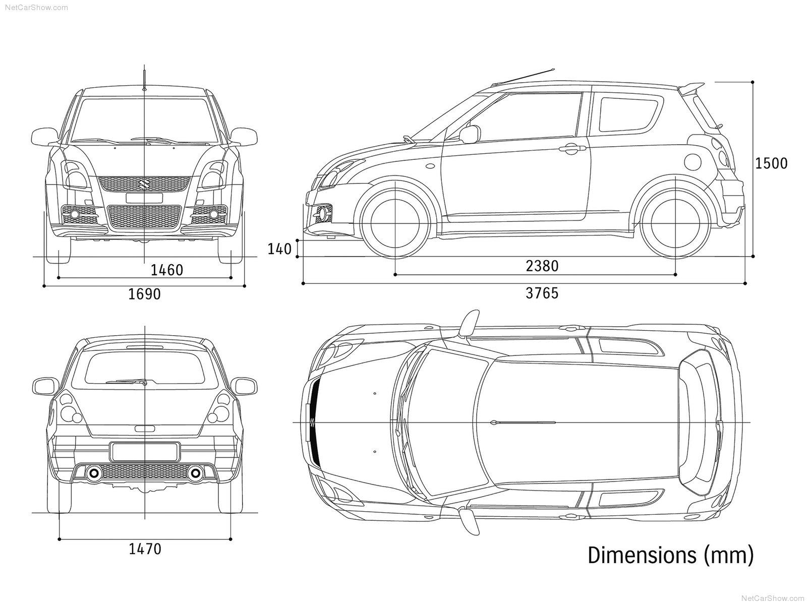 Hình ảnh xe ô tô Suzuki Swift Sport 2007 & nội ngoại thất