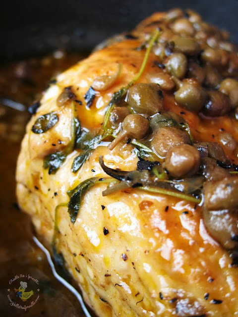 Brasato di tacchino ai capperi -  Turkey roast with capers