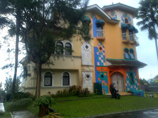 Disewakan villa kota bunga puncak