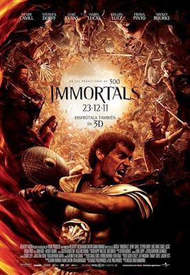 Immortals 2011 DVD R1 NTSC Latino