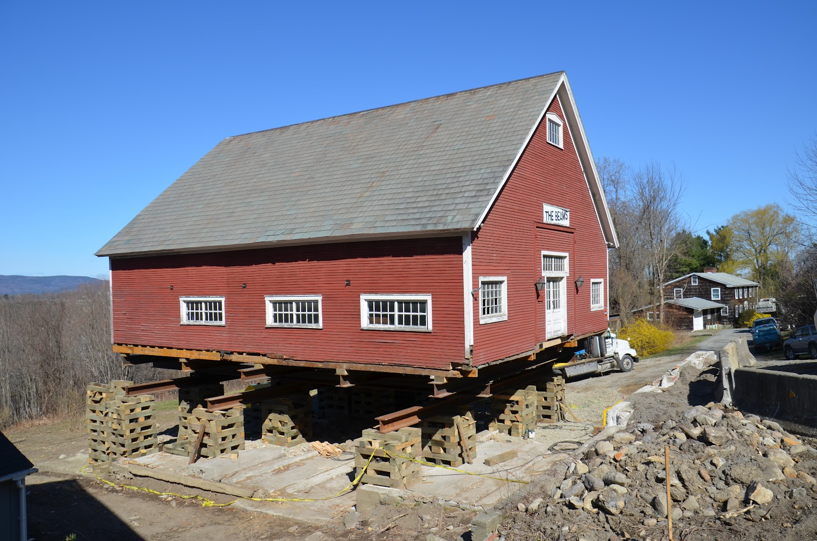 Middlebury barn renovation moved to the north for Barn renovation