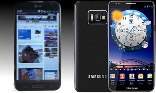 Samsung Galaxy Note p900 and p600