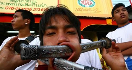8. Vegetarian Festival – Thailand