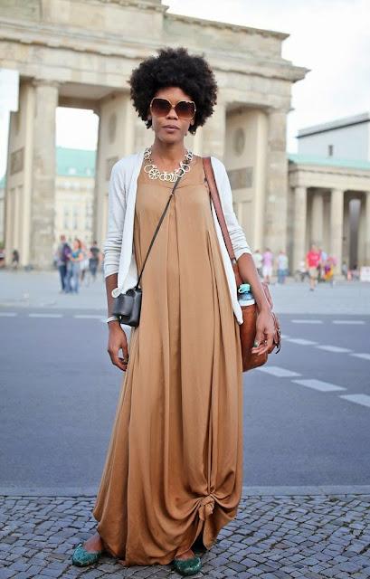 Moda - Maxivestido com nós - tendências verão 2015 vestido comprido