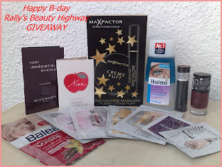 Happy B-day Rally's Beauty Highway - International giveaway