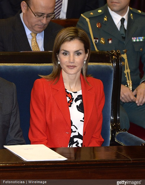 Queen Letizia of Spain attends the Rare Diseases World Day Event at the Senate Building on March 5, 2015 in Madrid, Spain