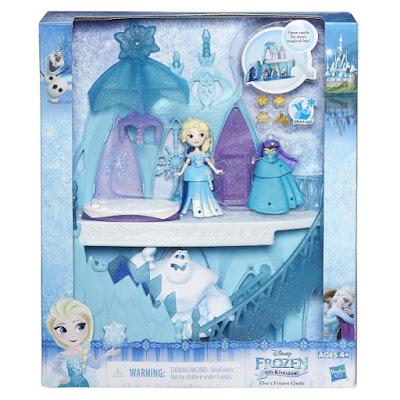 TOYS : JUGUETES - DISNEY Frozen  El Castillo de Elsa | Minis - El pequeño Reino   Disney Frozen Little Kingdom Elsa's Frozen Castle  Producto Oficial 2016 | Hasbro B5197 | A partir de 4 años  Comprar en Amazon España & buy Amazon USA