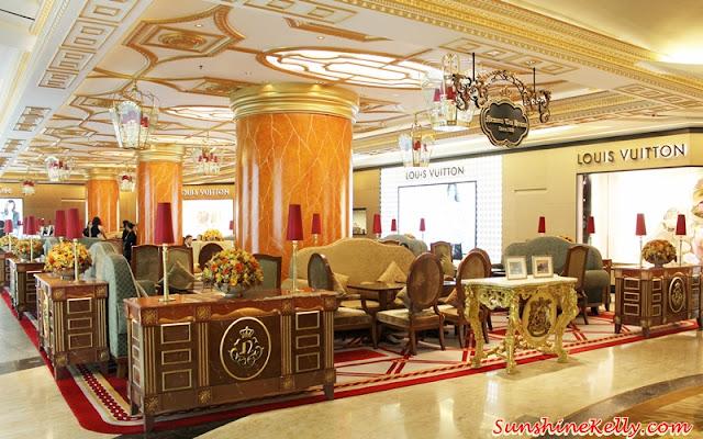 Fashion Afternoon Hi-Tea, Newens Tea House, Starhill Gallery, Kuala Lumpur, English tea room, eanglish tea house, maids of honor, designer cake, designer desserts, fashionable hi tea, A Journey Through Time IX, A Journey Through Time IX fashion hi tea