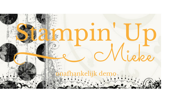 Stampin' Up by Mieke