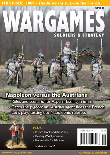 WSS Magazine features various wargaming articles