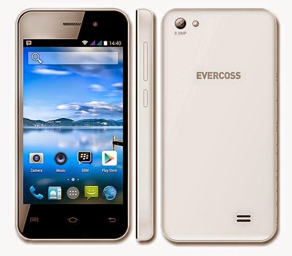 Harga Evercoss A7E England Android Kitkat 8MP Kamera