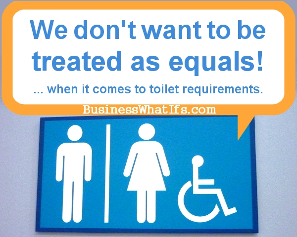 The Inequality Of Public Toilets... Is A Must!