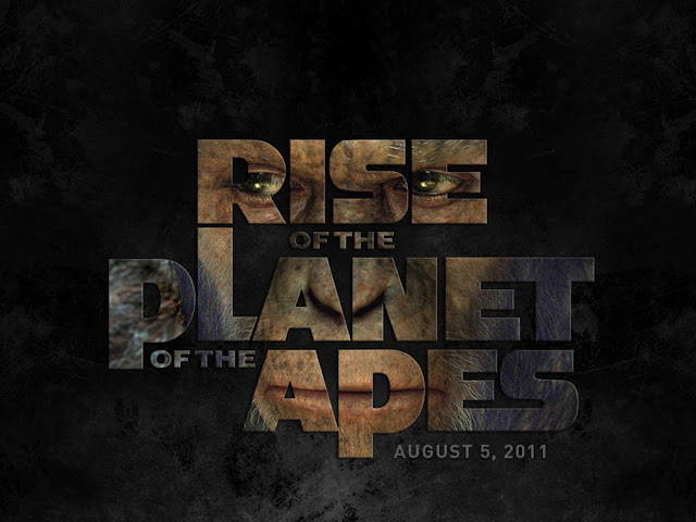 Rise of the Planet of the Apes PowerPoint Background 2