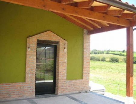 Fachadas falabella for Pinturas para casas de campo