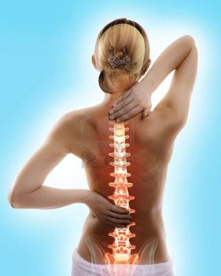 Lfk para la columna vertebral con la osteocondrosis