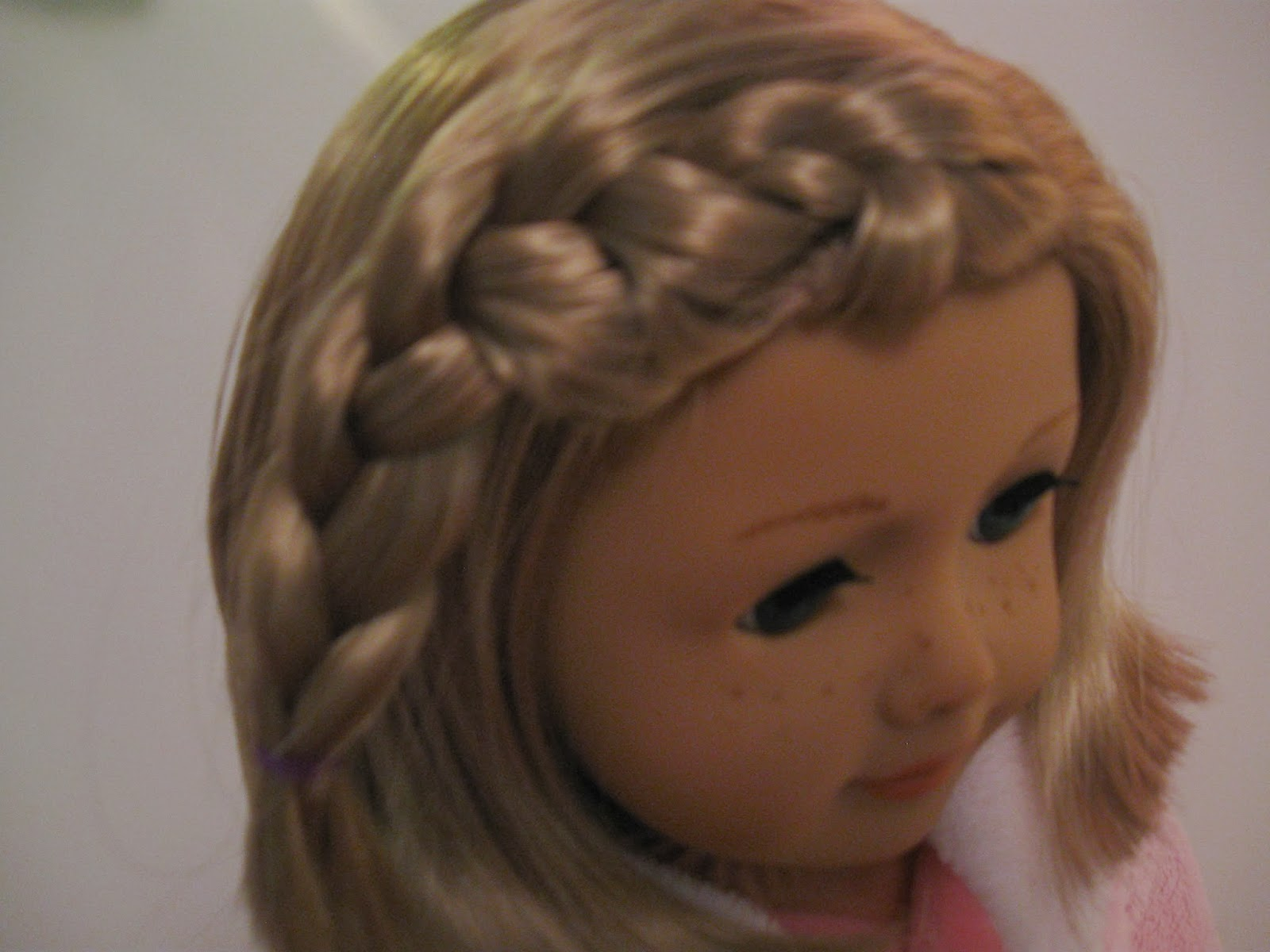 ... hairstyle on days when she wants to look a bit nicer than most days