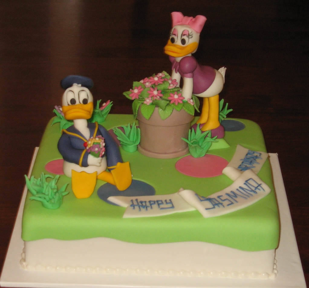 Let Them Eat Cake Donald Daisey Duck
