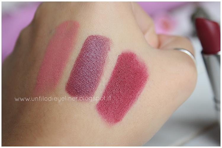 Mac Lipstick Amorous Swatch