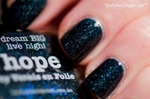 "Picture Polish ""Hope"" - artificial light"