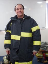 Prof. Marcelo em cursos de formação para Bombeiros