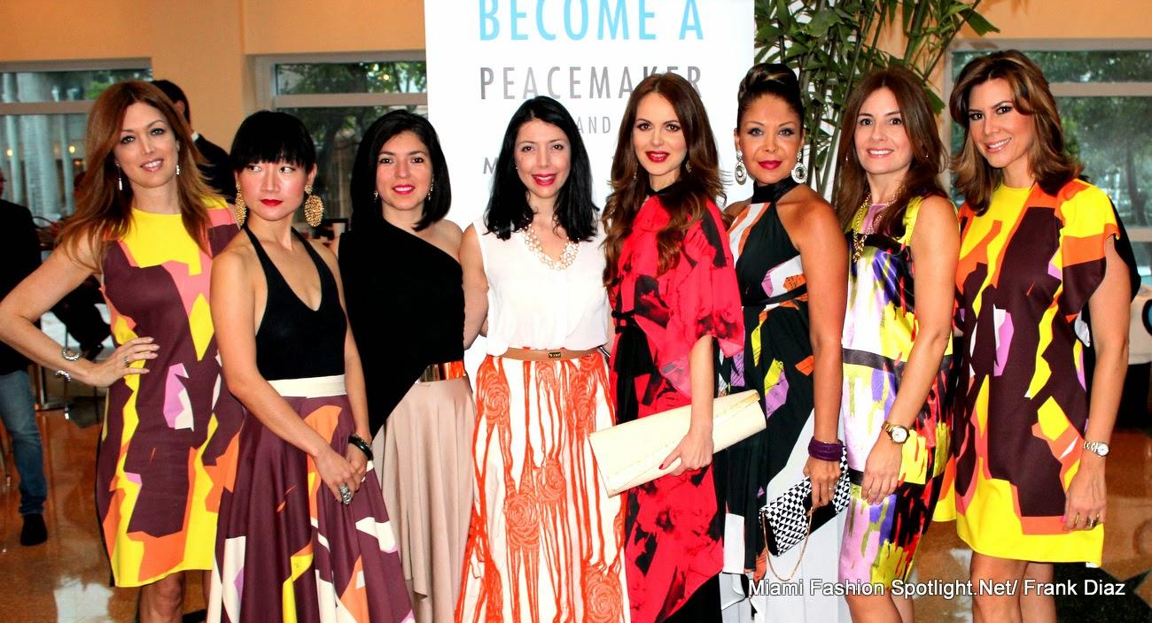 Santi Chumaceiro, Lexïng Zhang, Lisu Vega, Ana Tarbay, Athina Klioumi Marturet, Lissette Rondon, Marietta Alvarez and Maria Fernanda Badillo.