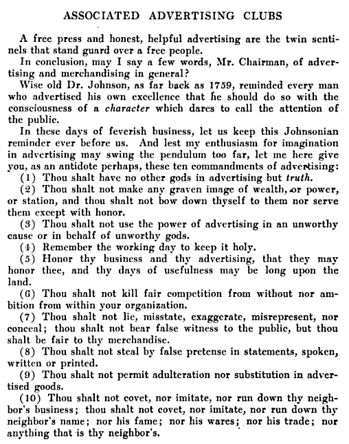 advertising ethics 4 Ethics and manipulation in advertising answering a flawed indictment michael  j phillips 1 volume for more than 50 years the critics of advertising have.