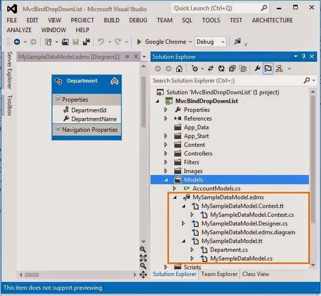 Dynamically bind Asp.Net MVC Dropdownlist from Sql Server Database Pic-5