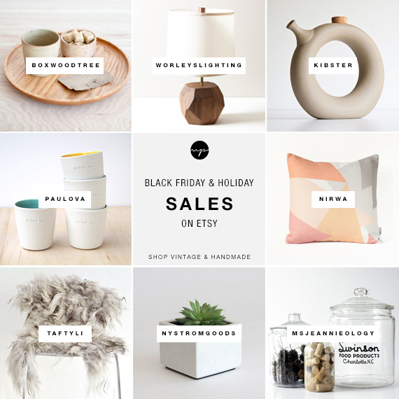 Black Friday & Holiday sales on Etsy | Home