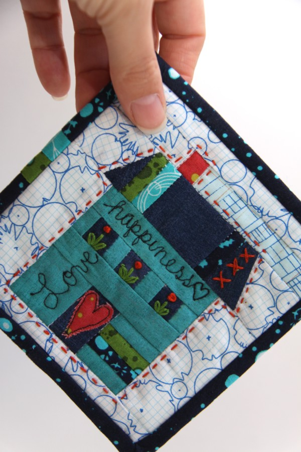 Campbell Soup Diary   U0026quot The House Where Kitty Lives U0026quot  Free Pattern