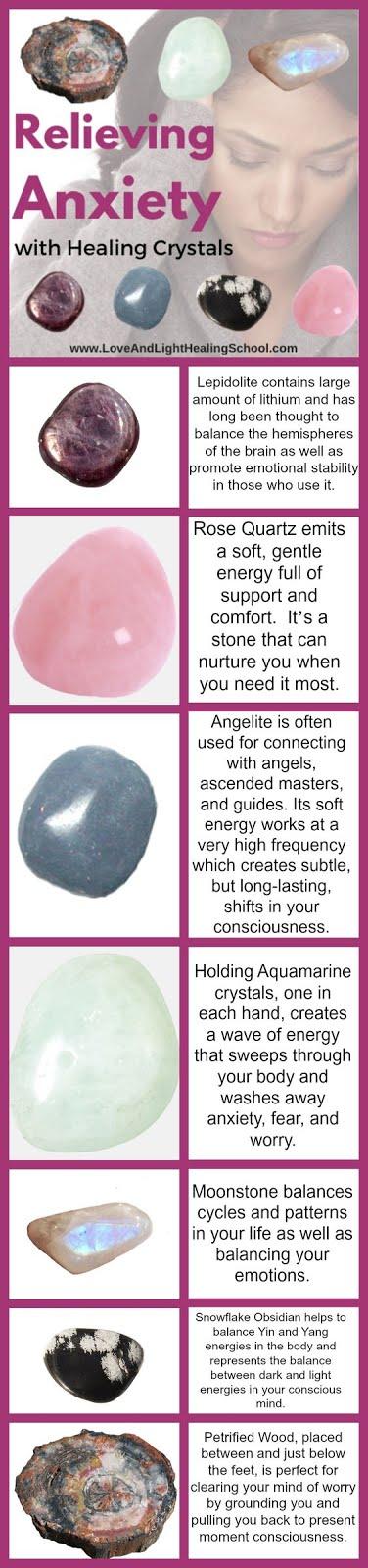 cristale remedii anxietate