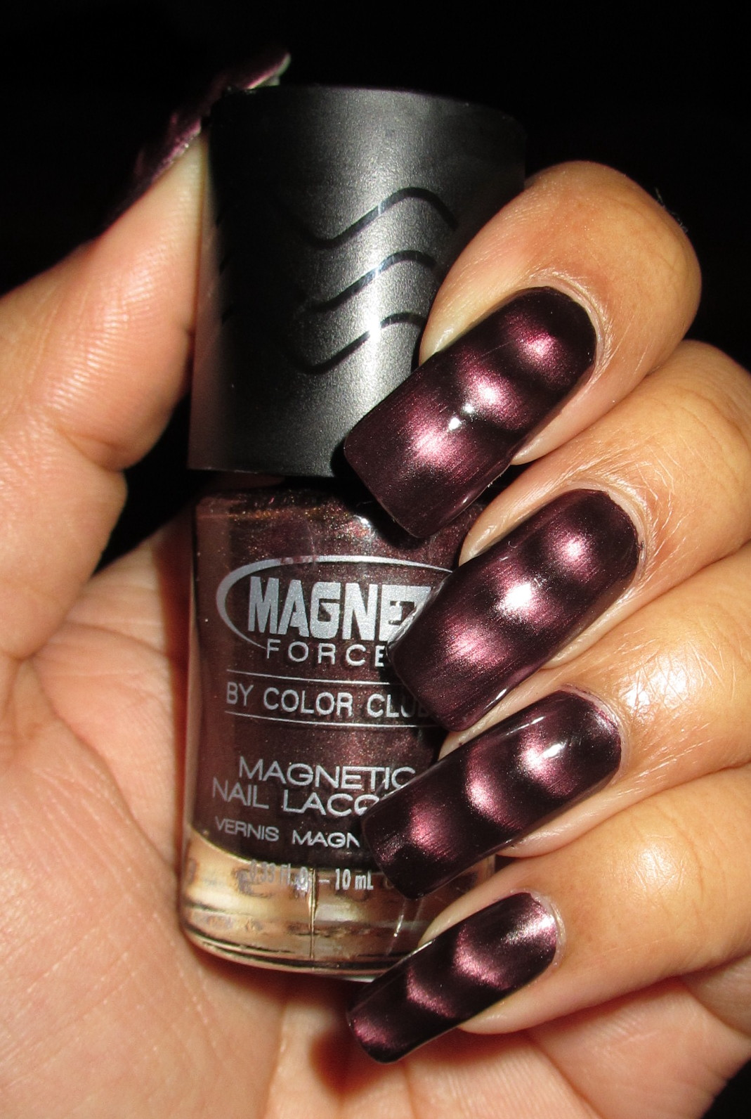My Simple Little Pleasures: NOTD: Color Club Magnetic Force