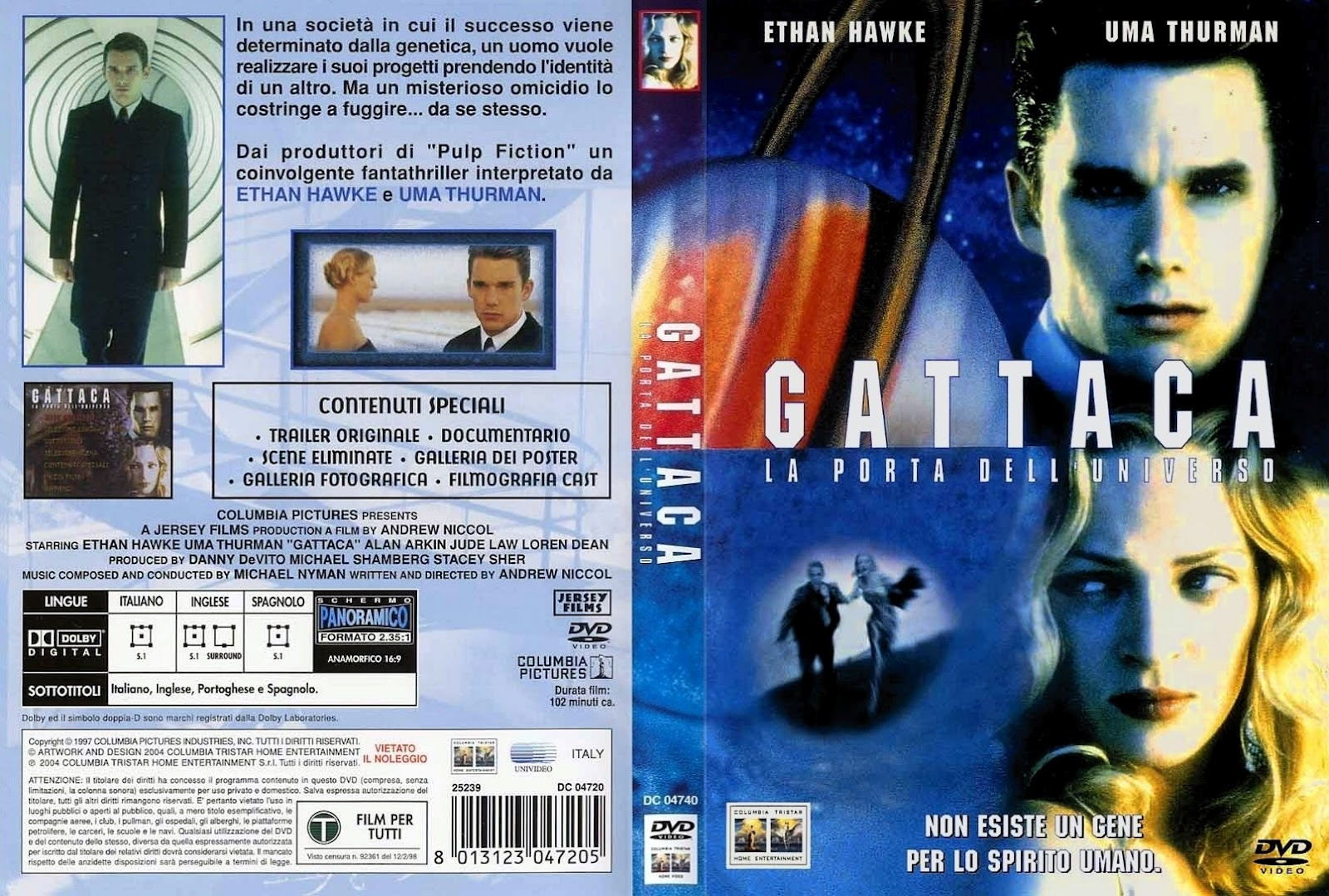 gattaca andrew niccol s film Gattaca, directed by andrew niccol, gives a perspective of what the future of discrimination is to evolve into: no longer determined by skin color, gender, or social.