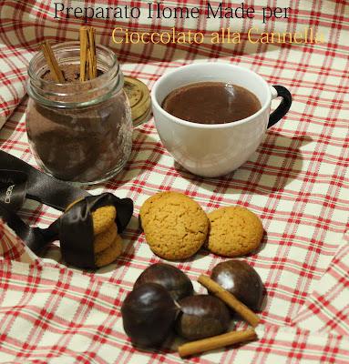 regali di natale home made #4:preparato per cioccolata alla cannella