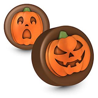 Calabaza de halloween en bombones