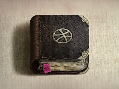 Skelet Art, dribble book icon