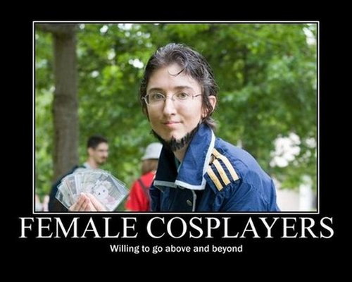 Cosplay Demotivational Posters Complication Quotes