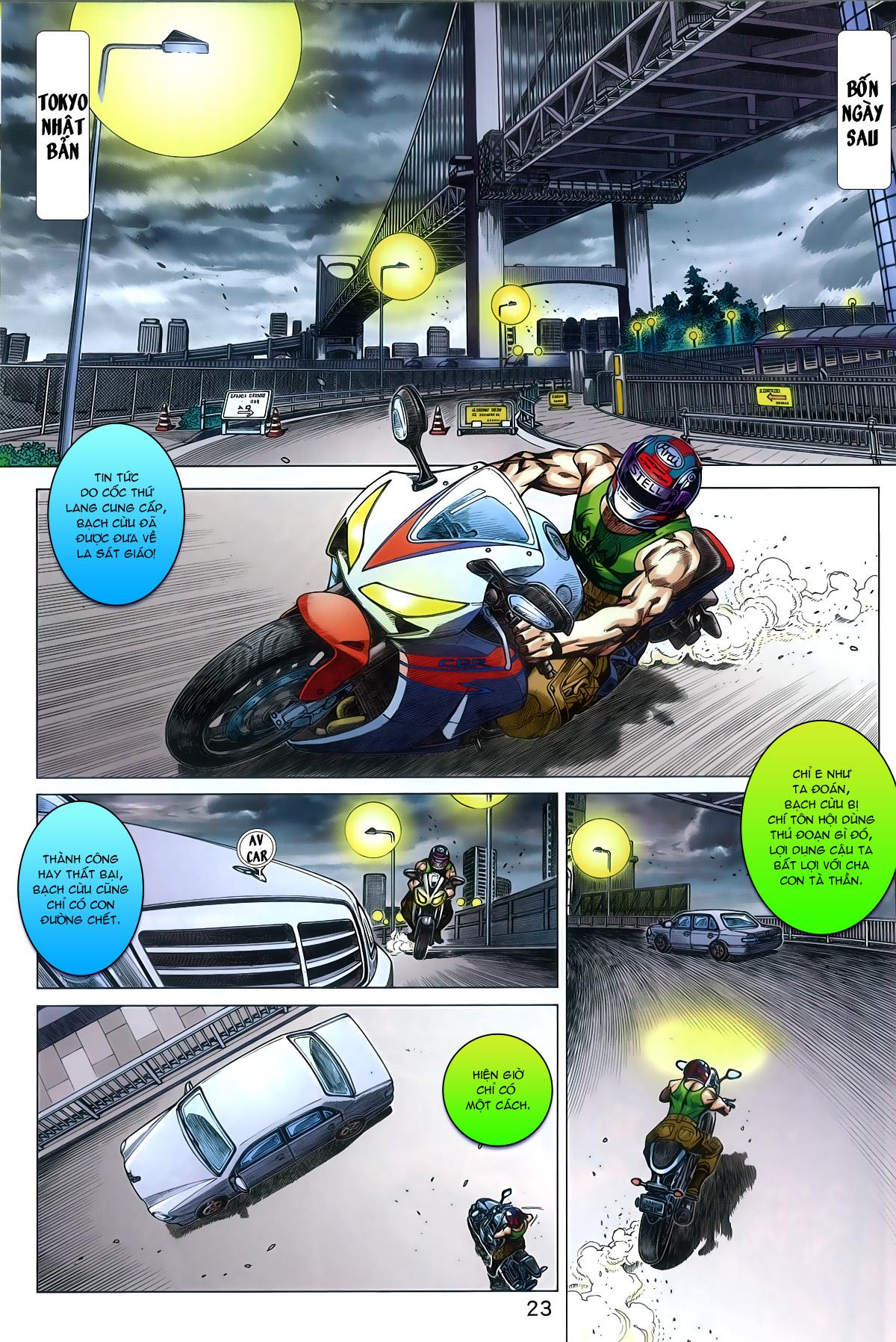 Tân Tác Long Hổ Môn chap 787 Trang 23 - Mangak.info