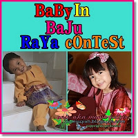 Baby In Baju Raya Contest