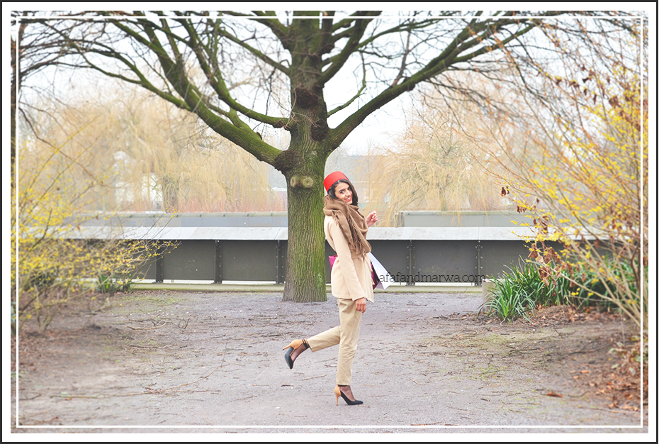 amsterdam fashion week 2015 street style moroccan style red hat afaf and marwa